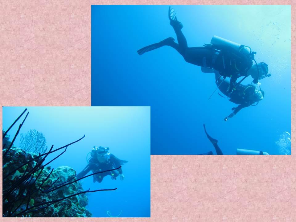 Wakatobi, Me and Pierre under water