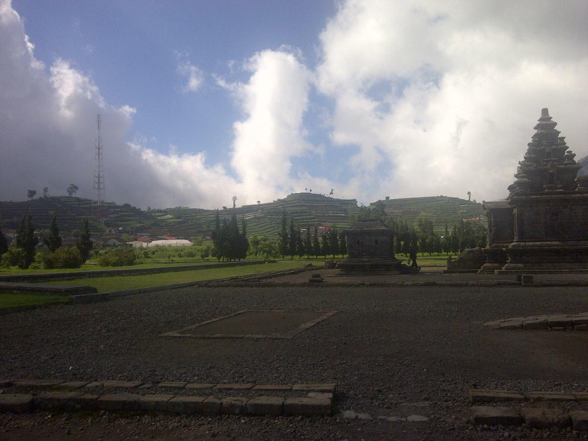 Wonosobo Dieng Plateau Arjuna Temples