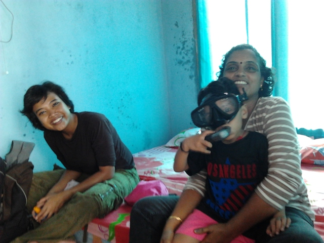In the homestay