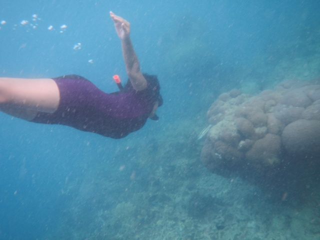 Hehe,, I can get a pic of me freediving!!