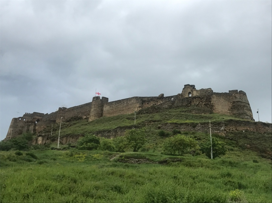 Gori Fortress View from the Parking Area